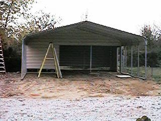 Disk Works Of South Jersey Combo Carport Installation
