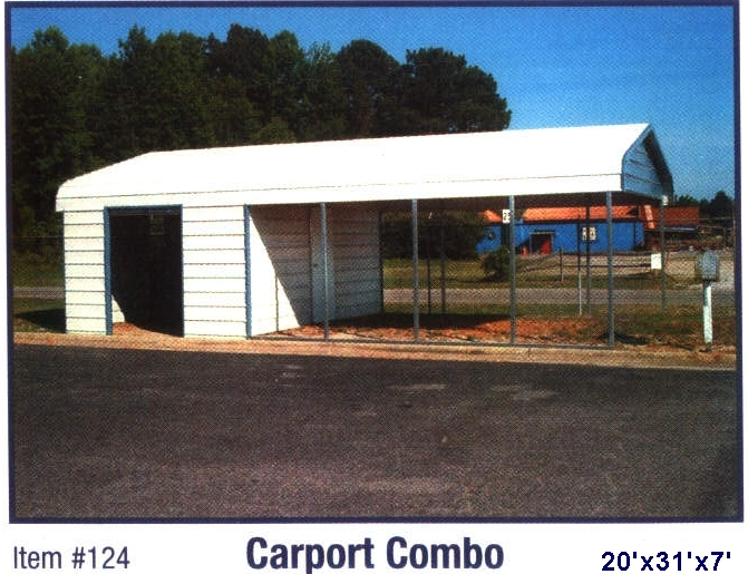 Carport shed combo for Carport shed combo